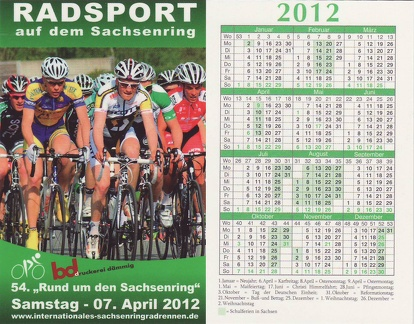Radsport 2012