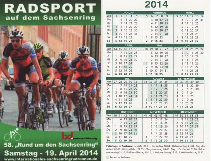 Radsport 2014