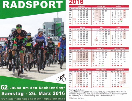 Radsport 2016